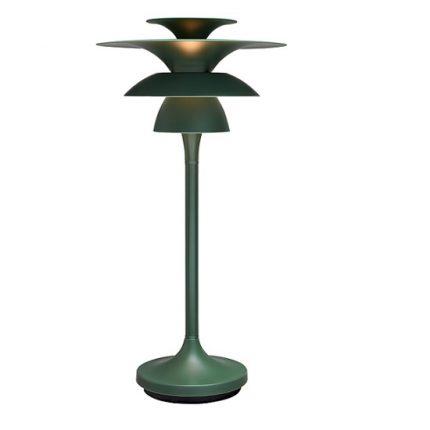 Bordslampa Picasso avokadogrön LED-0