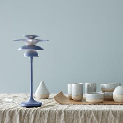 Bordslampa Picasso duvblå LED-14671