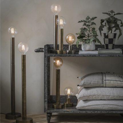 Notice bord/golv Råsilver 80cm-11700