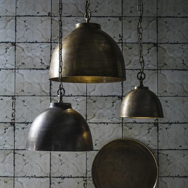 Taklampa Rochester Svart/Guld 45cm-11912