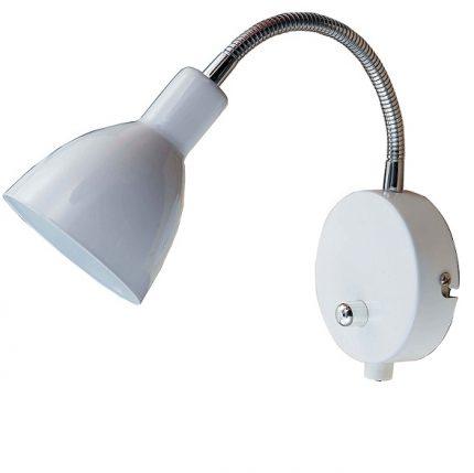 Vägglampa Rolle LED Vit-0