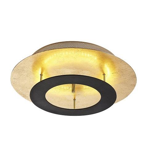 Plafond Saturnus guld svart-0