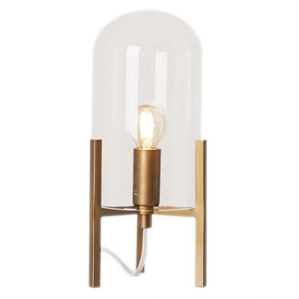 Bordslampa Smokey Guld-0