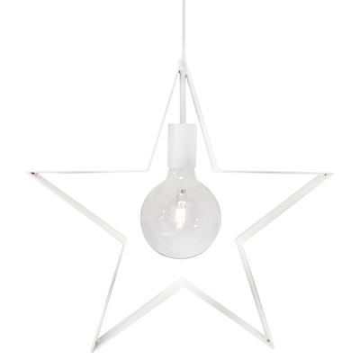 Stella Polaris fönsterstjärna 42cm Sandvit-0