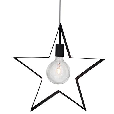 Stella Polaris fönsterstjärna 42cm Sandsvart-0