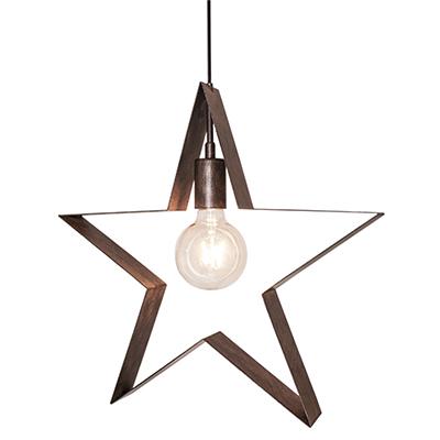 Fönsterstjärna Stella Polaris rost-0