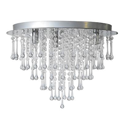 TARA Plafond kristall krom-0