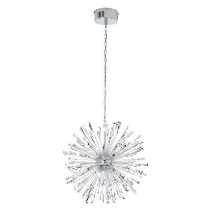 Taklampa Vivaldo LED 21L Dia 68 cm krom-0