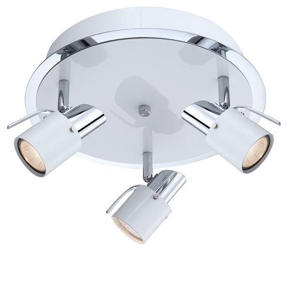 Plafond Zingo 3 LED Vit-0
